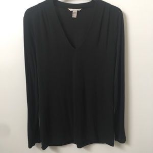 Banana Republic Black V Neck Sweater